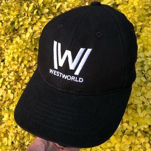 Westworld HBO TV promo strapback hat baseball cap